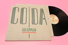 LED ZEPPELIN LP CODA ORIG ITALY 1982 NM ! RARO MADE IN GERMANY CON TIMPRO SIAE !