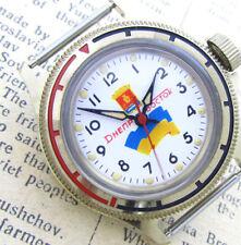 VOSTOK DNEPR DOLPHIN DIVER UKRAINE Vintage 1990s Soviet Russian Mechanical Watch