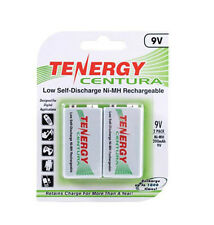 Tenergy Centura Rechargeable 9V Volt Low Self-Discharge Battery 2 Pk