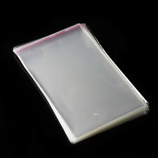 100PCS 5.5x7.5IN Poly Bags Lip Cello Resealable Unsealed Bags