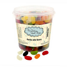 theOnlineSweetShop Haribo Jelly Beans Party Sweet Bucket Sweets Halal Candy