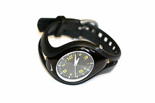 Women's Nike Triax Black Yellow Analog Blaze Sport Watch