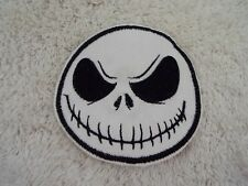 "JACK SKELLINGTON 4"" Embroidery Iron-on Custom Patch (E7)"