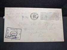 APO 700 ORAN, ALGERIA 1943 Censored WWII Army Cover 505th CA AA w/ Letter