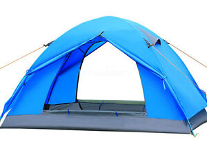 2 Person Double Layer Waterproof Windproof Camping Hiking Outdoor Tent