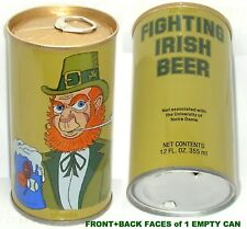 NOTRE DAME FIGHTING IRISH BEER CAN NCAA SPORTS FOOTBALL+BASKETBALL+BASEBALL BALL