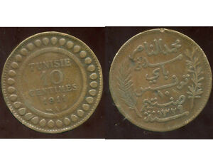 TUNISIE   10 centimes 1911  ( bis )