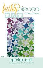 Quilt Pattern ~ SPARKLER QUILT ~ by Freshly Pieced Modern Patterns