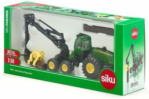 1994 Farmer John Deere Harvester Tractor Model 1:50 Green - UK