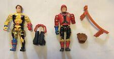 1986 LJN Bionic Six Jack Bennett Figure Plus Extras Figure & Parts