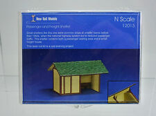 NEW RAIL MODELS N SCALE 12013 PASSENGER AND FREIGHT SHELTER LASER-CUT KIT B2A