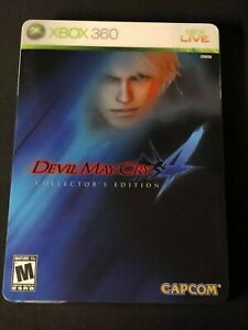 Devil May Cry 4 -- Collector's Edition (Microsoft Xbox 360, 2008) COMPLETE!