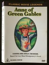 ANNE OF GREEN GABLES  Anne Shirley, Tom Brown - Black & White 1934 DVD