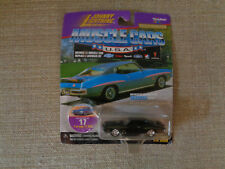 JOHNNY LIGHTNING MUSCLE CARS USA 1971 PONTIAC GTO JUDGE  Black