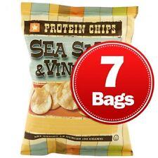 NUTRIWISE | Sea Salt & Vinegar Diet Potato Chips | High Protein, Low Fat
