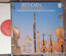 BEETHOVEN SEPTETT op. 20 PHILHARMONISCHES OKTETT BERLIN LP