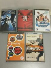 Lot of 5 Sony PSP Playstation Portable Games