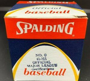 Vintage Spalding Official Major League Baseball 41-311 in Original Box