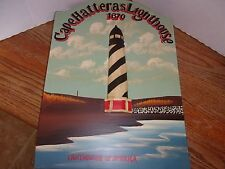 Cape Hatteras Lighthouse PrintedBalinese wood carving Wall Hanging