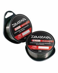 Daiwa Sensor Monofilament Fishing Line - 300m Spool Brown Mono - All Sizes