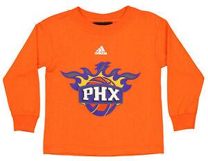 Adidas NBA Toddlers Phoenix Suns Home Team Logo Tee, Orange