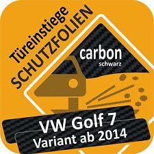 VW Golf 7 Variant Lackschutzfolie Türeinstiege Schweller  Folie  Schutzfolie