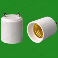 50x GU24 To Edison Screw ES E27/E26 Light Bulb Adaptor Holder Converter Socket