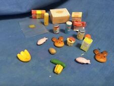 SYLVANIAN FAMILIES ACCESSORIES AND FOOD FOR VILLAGE STORE / SUPERMARKET SHOP