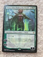 x1 MTG Nissa, Who Shakes the World - War of the Spark - MTG - NM/Mint
