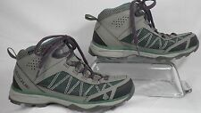 Vasque Monolith Mid WP Hiking Boots Neutral Gray/Silver Pine Women Size 7 M