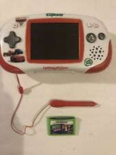 Leap frog leapster explorer Cars Lightning McQueen Edition With Leap School Game