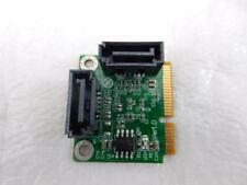 New Mini PCIe PCI-Express to 2 Port SATA 3.0 III 6Gb/s Expansion Card PM1061