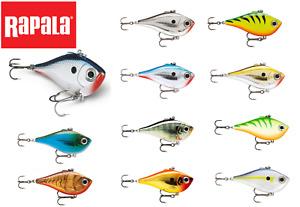 Rapala Rippin' Rap Fishing Lure Hard Vibrating Action 5cm - 7cm / 9g - 24g