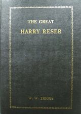'THE GREAT HARRY RESER' 1978 1st EDITION DISCOGRAPHY PUBLISHER NEW OLD STOCK!