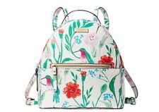 NWT! Kate Spade Sammi Laurel Way Hummingbird Floral Backpack WKRU5468