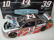 Tony Stewart 2013 Mobil 1 #14 Polished Nickel Chevy SS 1/24 NASCAR Diecast Rare