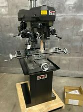 Jet Jmd 18 Milling Drilling Machine 2 Hp Brand New Mill Drill 1 Phase With Stand