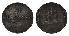 ITALIA Lombardo Veneto Francesco I - 5 Centesimi 1822 M