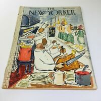 The New Yorker: Nov 25 1950 - Full Magazine/Theme Cover Ludwig Bemelmans