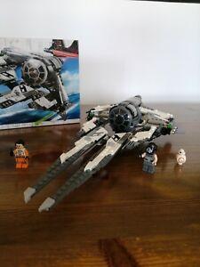 ☑️ LEGO Star Wars 75242 - Black Ace TIE Interceptor -