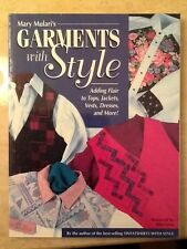 Quilting book GARMENTS WITH STYLE by Mary Mulari new