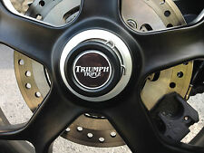 TRIUMPH TIGER SPORT 1050 - WHEEL SPINDLE AXLE PLUGS CAP BUNGS 2013 2014 2015