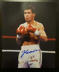 Julio Cesar Chavez Signed Autographed Photo Professional Boxer Auto