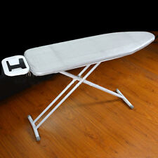 "15"" x 48"" Silver Ironing Board Cover Fiber Pad Fireproof Pull String Secure"