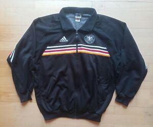 Deutschland DFB Germany Adidas WM 1998 Jacke Jacket Vintage schwarz Sz. XL D9