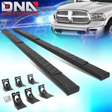 For 2009 2020 Dodge Ram Truck Crew Cab 5 Black Flat Board Side Step Nerf Bars Fits Dodge Ram 1500