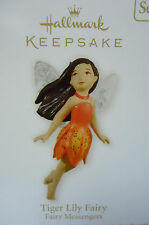 HALLMARK 2012 Tiger Lily Fairy Fairy Messengers Series NEW in Original Good Box