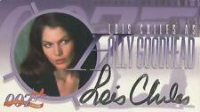 "Women of James Bond - A3 Lois Chiles ""Holly Goodhead"" Autograph Card"