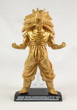 Dragonball Z Kai 22 HG Gashapon Figure - Super Saiyan Son Goku 3  (Gold ver) NEW