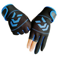 Durable Breathable Anti-slip 3 Fingers Protective Gloves for Outdoor Fishing